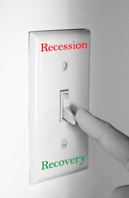 Recession lightswitch