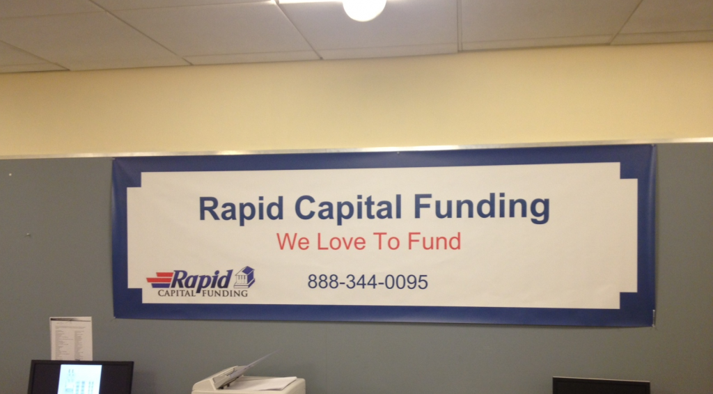rapid capital funding banner