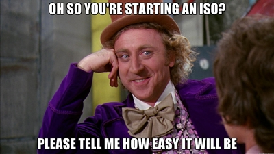 starting an iso