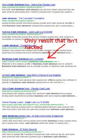 google penguin fail
