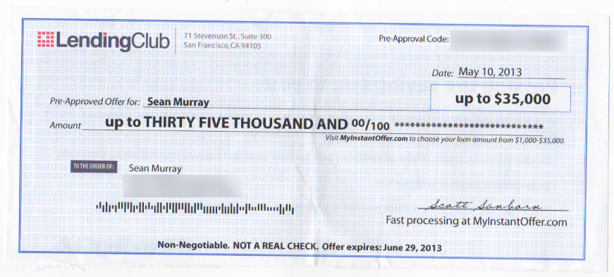 lending club check