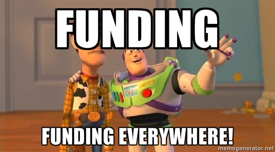 funding everywhere