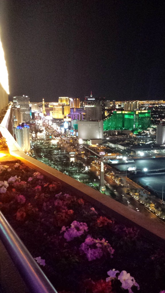 Foundation Room view Las Vegas