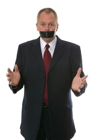silence speech about lending