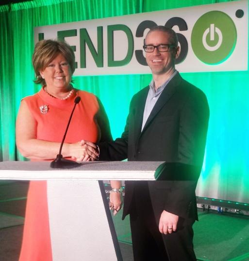 Lisa McGreevy and Sean Murray at Lend360