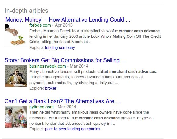 in-depth merchant cash advance articles