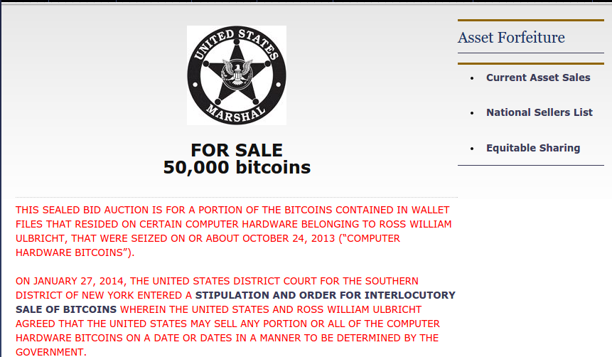 u.s. marshalls bitcoin auction