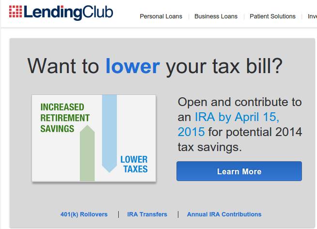 Lending Club IRA