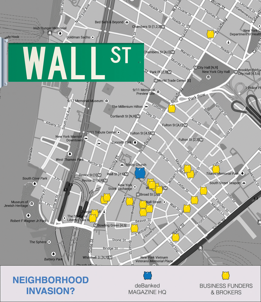 Wall street has a new landlord debanked merchant cash advance map wall street ccuart Gallery