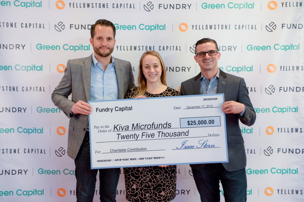 Fundry Yellowstone Capital Kiva Donation