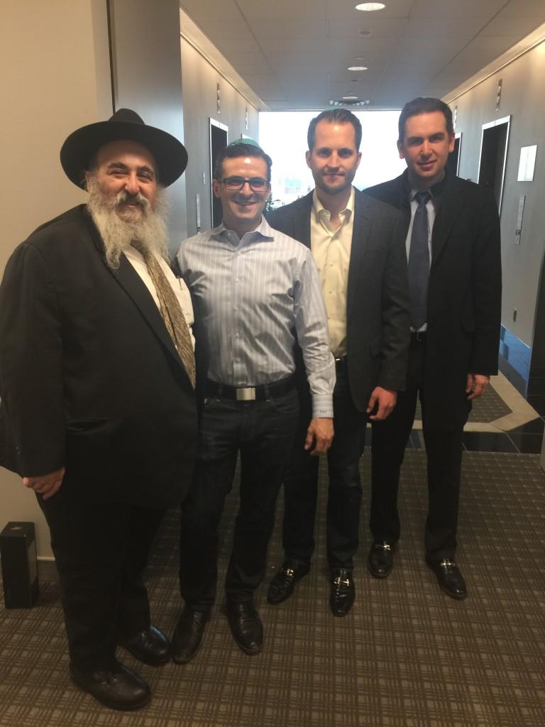 Isaac Stern, Jeff Reece, Steven Fulop