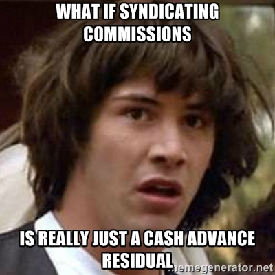 syndicating commissions