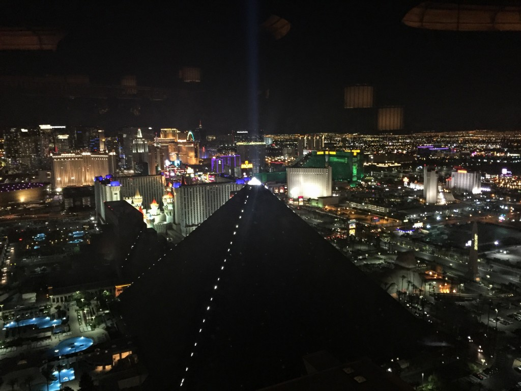 View from the top of the Mandalay Bay