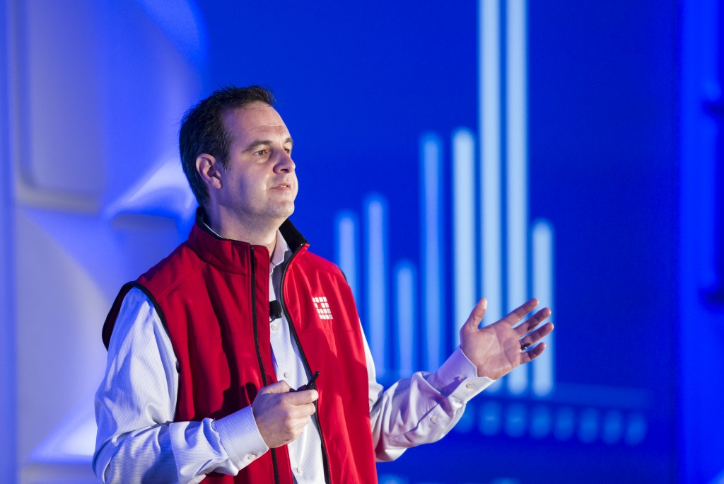 Keynote Presentation by Renaud Laplanche, founder and CEO of Lending Club, at the LendIt USA 2016 conference in San Francisco, California, USA on April 11, 2016. (photo by Gabe Palacio)