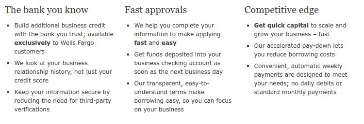 wells fargo business loans