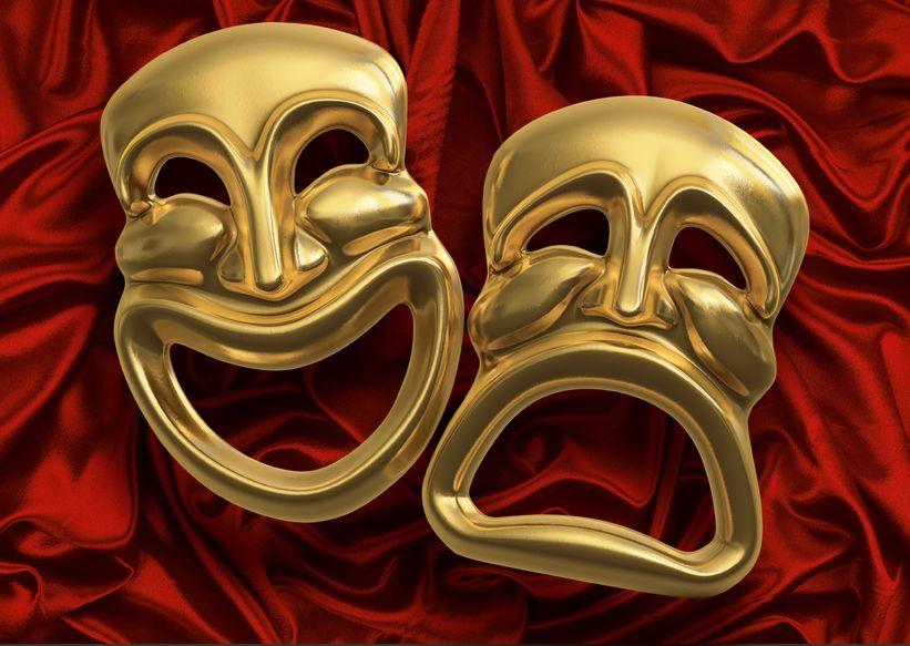 Comedy / Tragedy Masks