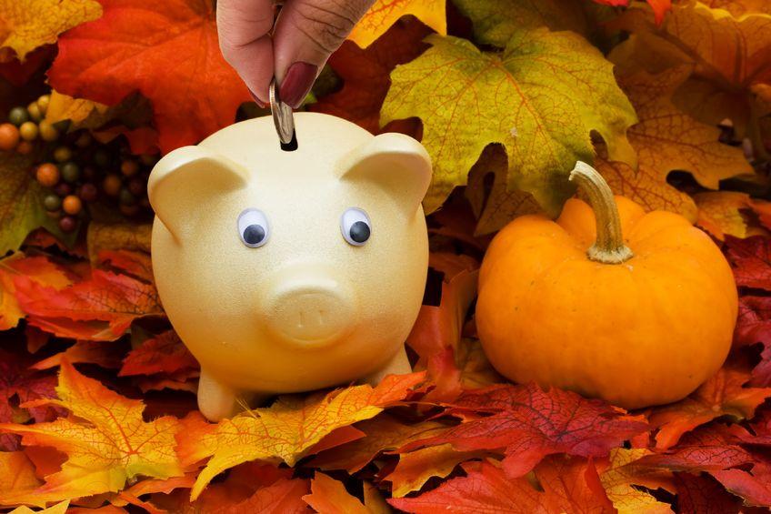 Piggy in the Fall