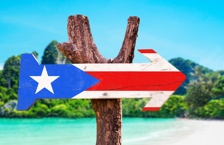 Puerto Rican Flag Sign