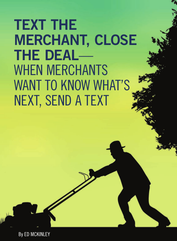 Texting Merchants - Pic