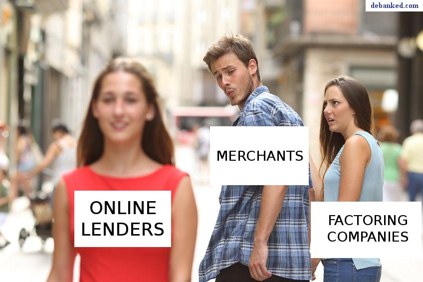 online lenders vs factors