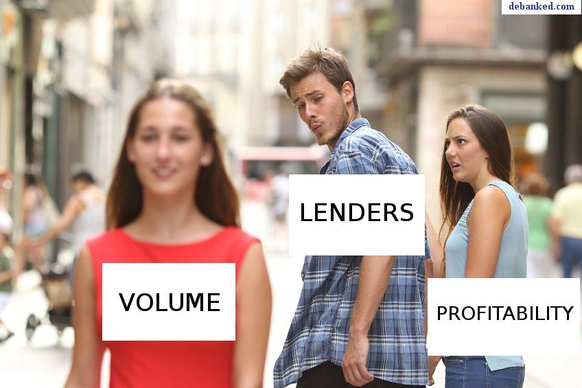 profits vs volume