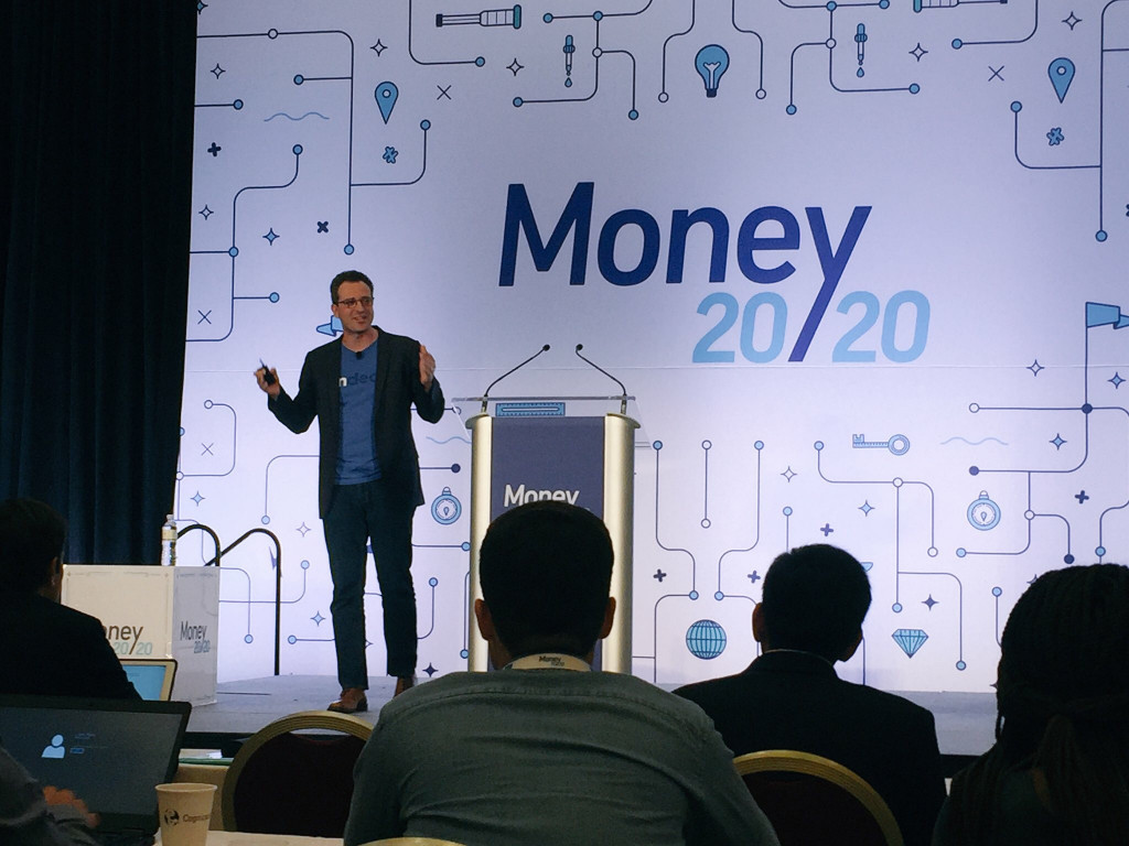 OnDeck CEO Noah Breslow at Money2020 in 2017