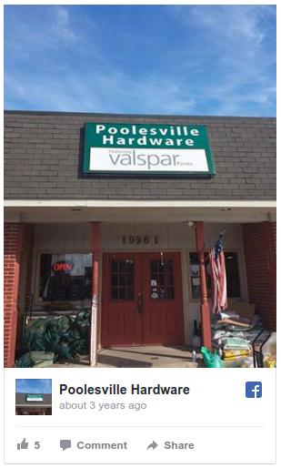poolesville hardware