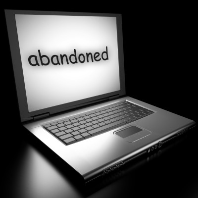 abandoned blog