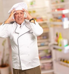 troubled chef