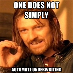 automate underwriting