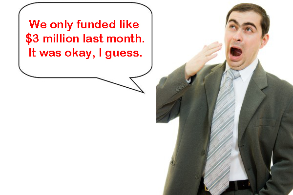 funding $3 million was okay I gues