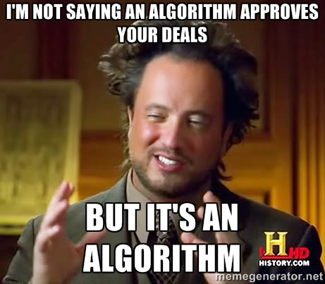 underwriting algorithm