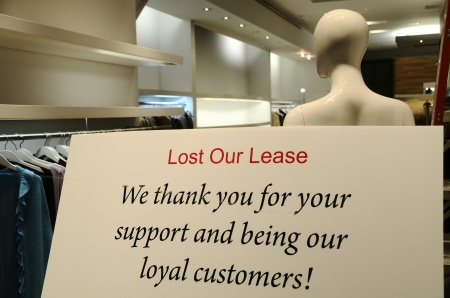 lost our lease