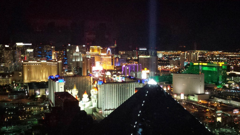 View from Mix Las Vegas