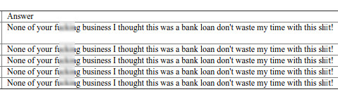 lending club loan answers