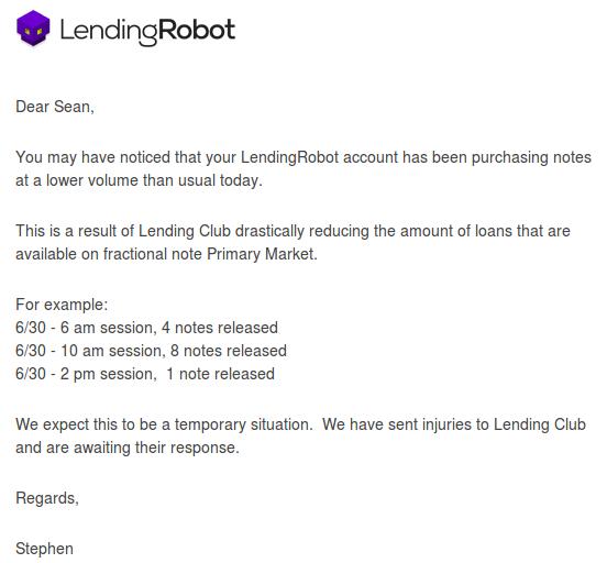 lendingrobot note