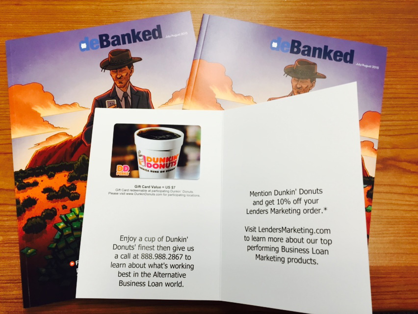 Lenders Marketing deBanked Swag