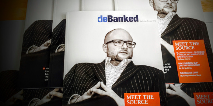 Jared Weitz deBanked Magazine Cover United Capital Source