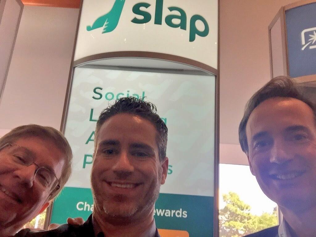 Meeting the guys at Slap