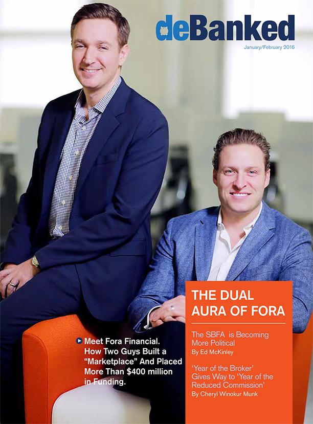 deBanked Jan/Feb 2016 Cover Fora Financial
