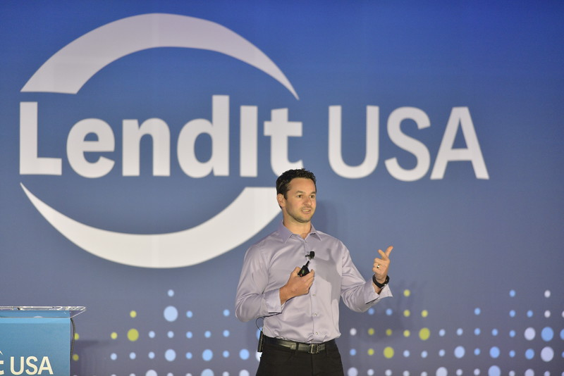 Al Goldstein of Avant speaking at the LendIt USA 2016 conference in San Francisco, CA, USA on April 11, 2016. (photo by Gabe Palacio)