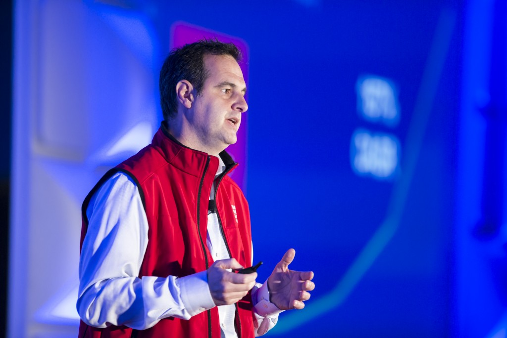 Renaud Laplanche, 1 month before he resigned from LendingClub at the LendIt USA 2016 conference in San Francisco, California, USA on April 11, 2016. (photo by Gabe Palacio)