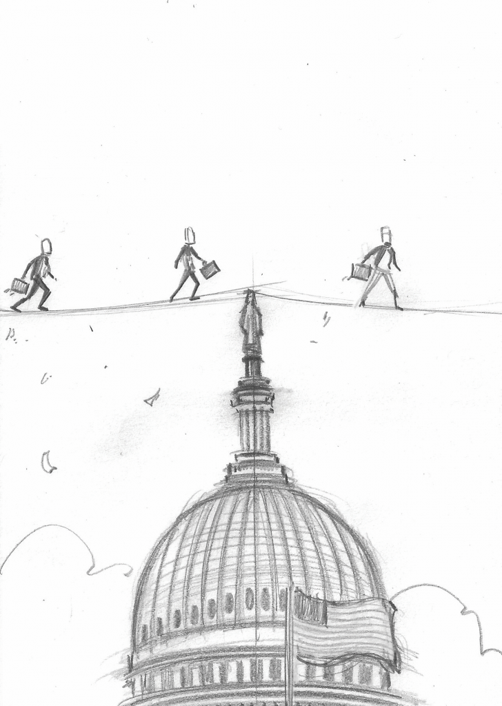 Businesses walking the government tightrope