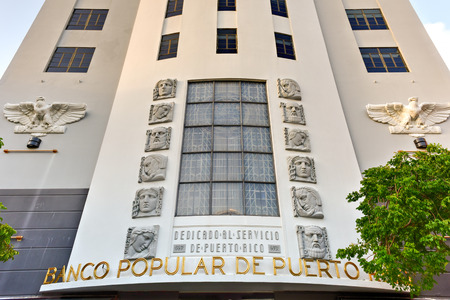 Banco Popular in San Juan, Puerto Rico