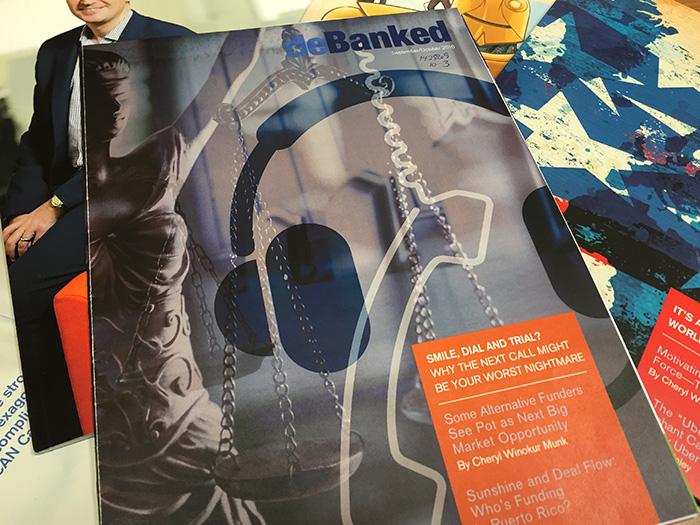 debanked September/October 2016 Cover