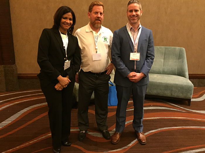 NACLB Conference - Wiladys Castillo of C4B Funding, Michael O'Hare of Blindbid, and Sean Murray of deBanked