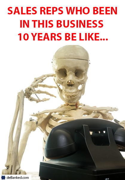 10 years in sales