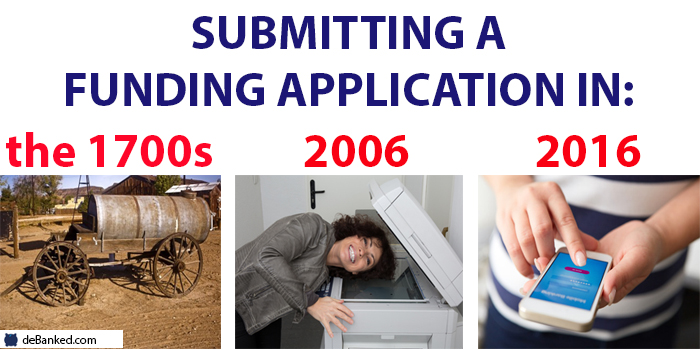 submitting a funding application