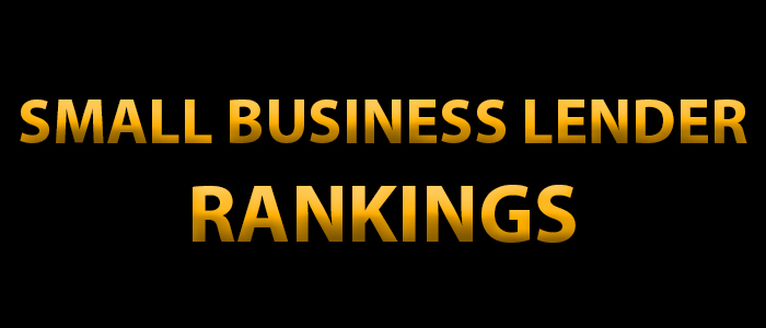 Small Business Lender Rankings