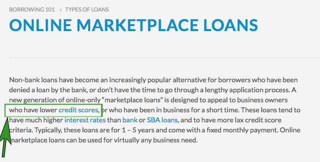 marketplace loans